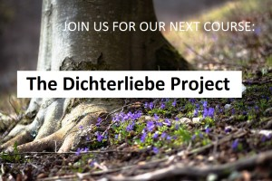 Our next project: Dichterliebe